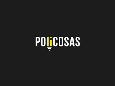 Brand Policosas branding lapiz logotipo marca brand