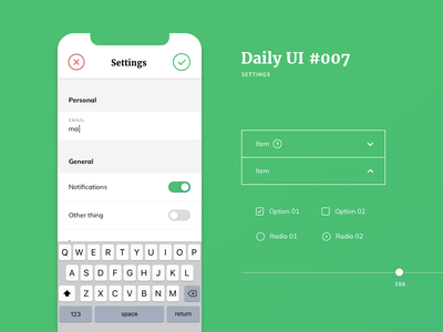 Daily UI #007 daily daily ui resources settings page ux  ui ux settings