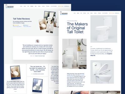 Inner pages and mobile pages for e-commerce website design ux ui web webdesign product bowl shop bathroom toilet web design web-design website mobile responsive inner pages e-commerce ecommerce b2c store