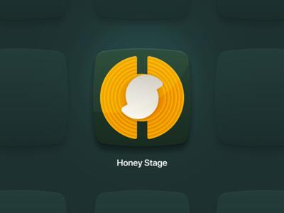 HoneyStage :: Application Icon