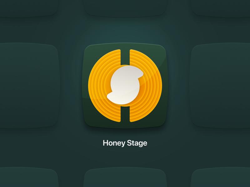 HoneyStage :: Application Icon app application icon 005 dailyui005 dailyui app icon