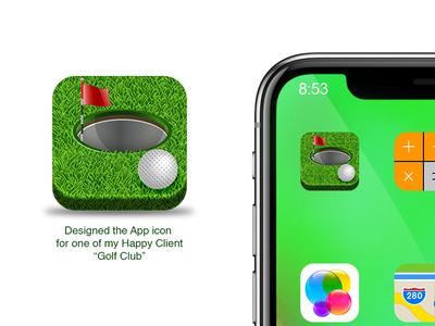Golf game App icon