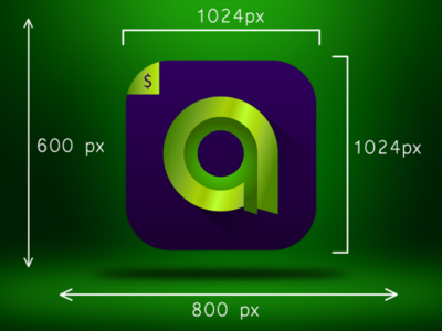 Alpha currency icon