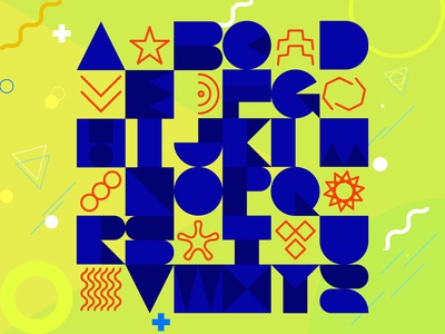 Geometric Alphabets