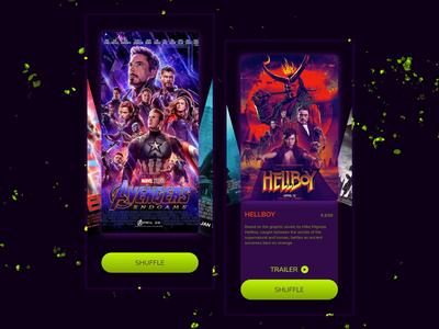 Random Movie Selector    App UI
