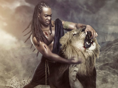 Fighting with Lions