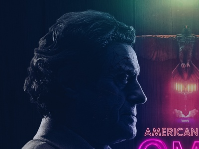 American Gods| Re-PostProduction Alternative Series Poster