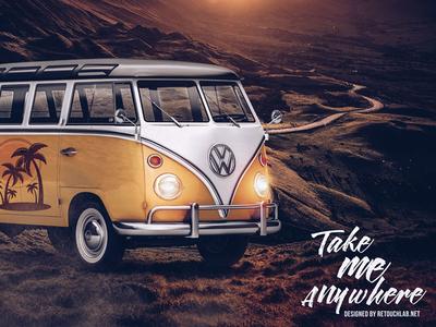 Take Me Anywhere | www.retouchlab.net