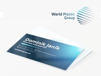 World Plastic Group Business Card