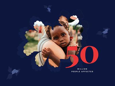 Charity Foundation ui typography website web homepage volunteer crowdfunding dark foundation charity