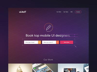 Booking tool preview web ulikeit pavel zeifart designers tool landing page site cover header