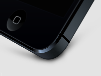 iPhone 5 Custom Angle iphone custom angle 3d vector mockup apple photoshop png iphone 5 iphone5