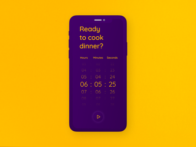 DailyUI_014_Countdown Timer dailyui challenge dailyuichallenge interface design ux ui daily 100 challenge daily ui dailyui dailyui 014 dailyui014 daily ui 014 time timer app timers timer