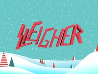 Sleigher Holiday 2012 Wallpaper