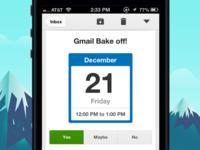 Gmail iOS 2.0 Calendar