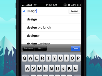 Gmail iOS 2.0 Search gmail redesign