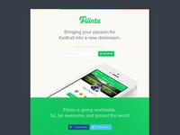 Fiiinta Landing Page