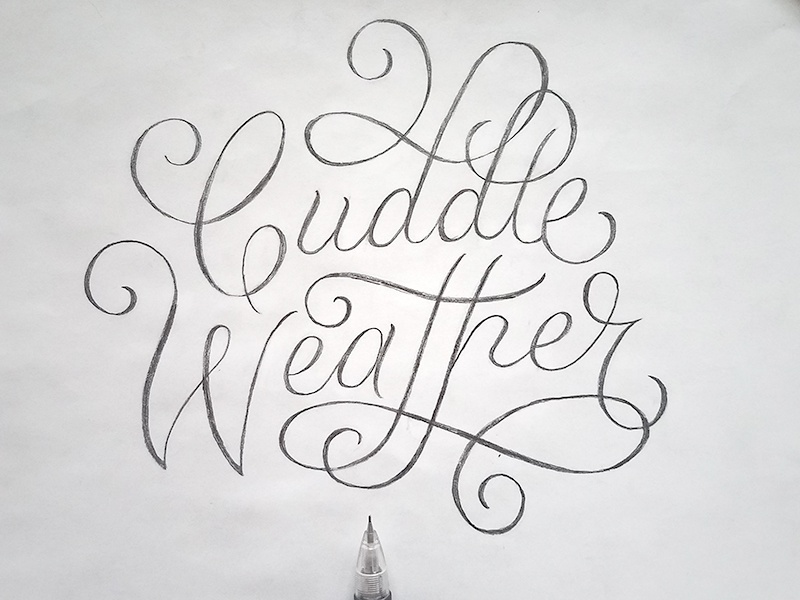 Cuddle Weather by Jessica Molina on Dribbble