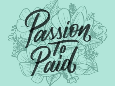 Passion to Paid Fall 2018