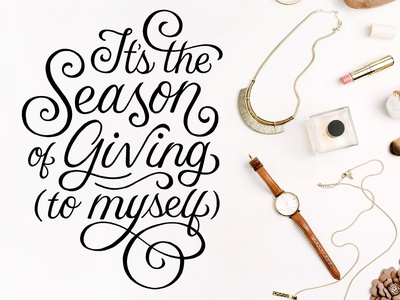 It's the Season of Giving