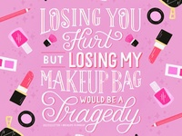 Losing My Makeup Bag