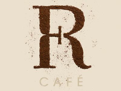 Foyer Café Natural Logo logo logotype cafe coffee monogram lettering chadomoto dimiter petrov