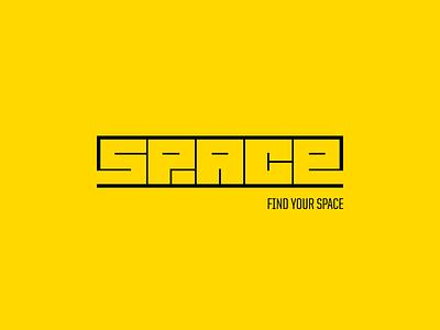 Space Logo chadomoto logo brand floor plan space thin architecture online rent simple minimal