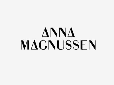 Anna Magnussen Type typography typeface