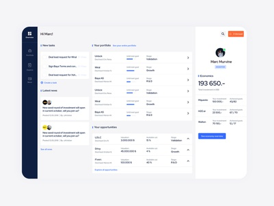 Dashboard for Crowdworks ux ui behavior design