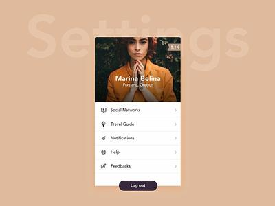 Settings icons settings ui  ux design