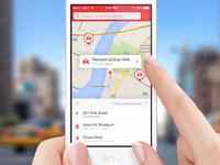 The Taxi App iOS 7