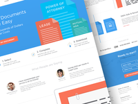 Legal Documents - Landing Page