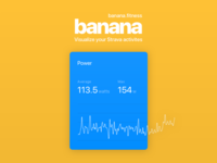 Banana - Now with Power Data