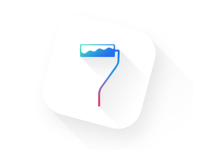 Wallpapers for iOS 7 best wallpaper 7 iphone ios parallax icon theme roll paint wallpapers flat