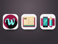 Hd wordie icons