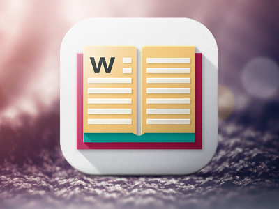 Wordie Dictionary Icon