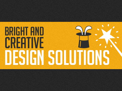 Bright and creative design solutions