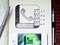 Phone book sketch