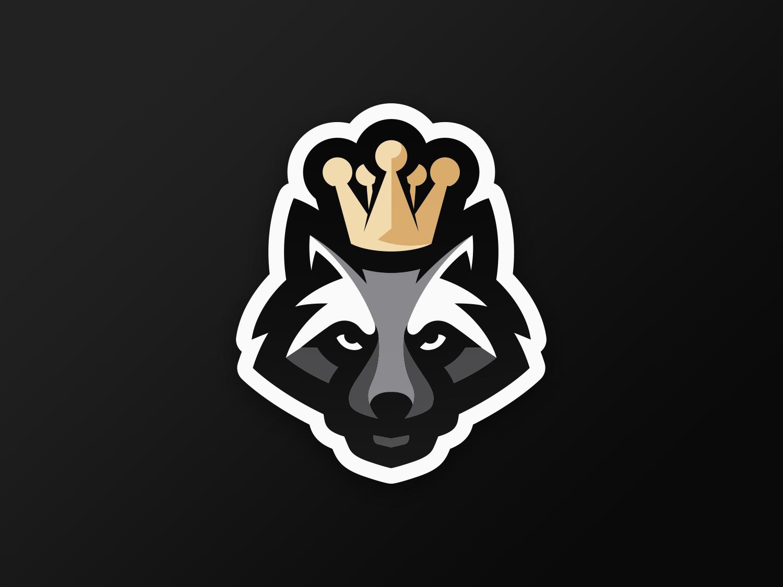 Raccoon Mascot Logo animal jef v bentem esports logo esports raccoon mascot logo mascot logo mascot raccoon