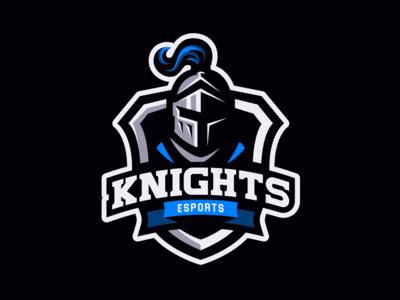 Knights Mascot Logo