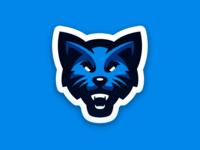 Wildcat Mascot Logo