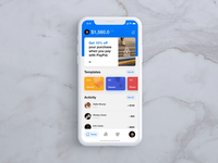 PayPal redesign concept