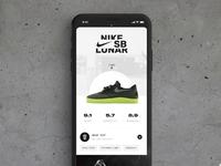 Nike SB App concept