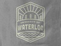 University of Waterloo Linear Badge Design