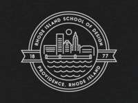 RISD Circle Badge