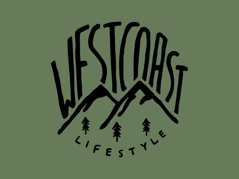 West Coast Lifestyle Tshirt Design by Carolyn Oatley on Dribbble