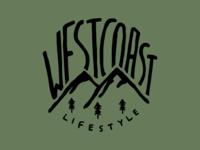 West Coast Lifestyle Tshirt Design