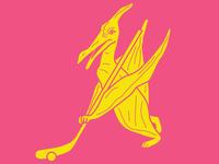 Pink Pteradactyls