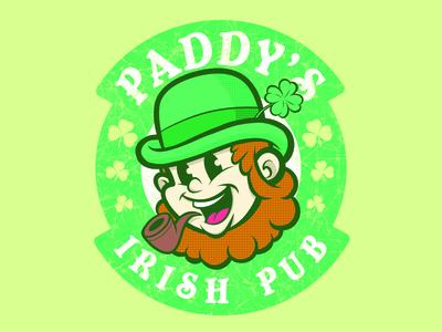 Paddy's Irish Pub irish pub holiday funny shirt shamrock bar sunny in philly its always sunny in philadelphia brewery logo beer clover leprechaun st patricks day paddys pub