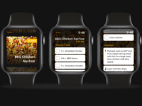 Dribbble recipe watch